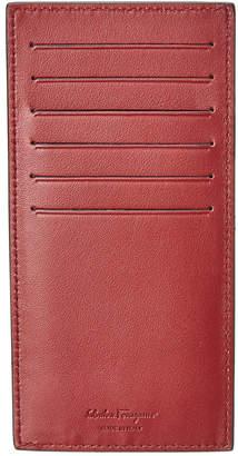Salvatore Ferragamo Leather Credit Card Case