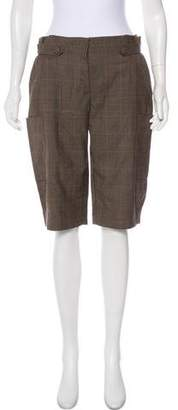 3.1 Phillip Lim Mid-Rise Wool Shorts