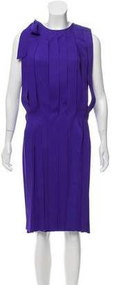 Bottega Veneta Fringe Cocktail Dress
