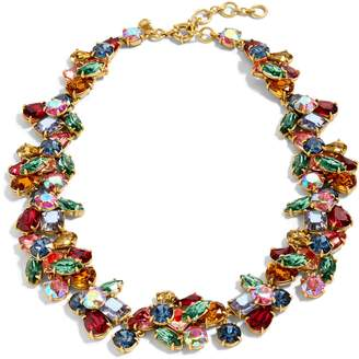 J.Crew Crystal Cluster Stone Necklace