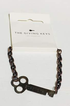 """The Giving Keys Copper """"Strength"""" Bracelet"""