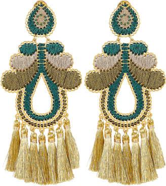 Mercedes Salazar Hazelnut Curubas Earrings