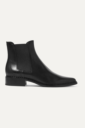 Vince Denver Leather Chelsea Boots - Black