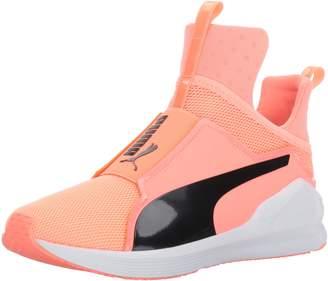 Puma Women's Fierce Core Sneaker, Black-Paradise Pink