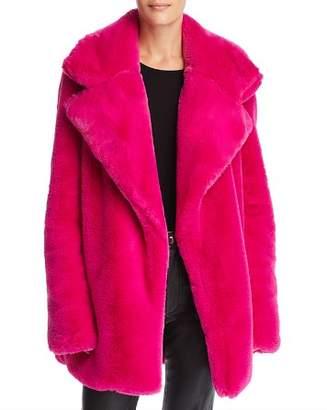 Milly Riley Faux-Fur Coat