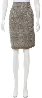 Pauw Wool Belted Skirt w/ Tags