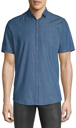 Saks Fifth Avenue Men's Med Chambray Button-Down Shirt