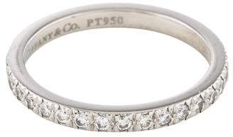 Tiffany & Co. Platinum Diamond Eternity Band
