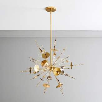 west elm Cosmic Burst Chandelier