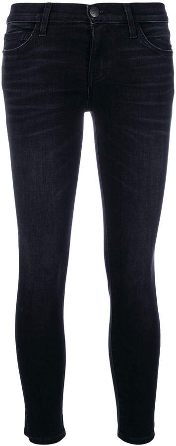 cropped stiletto jeans