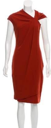 Kaufman Franco KAUFMANFRANCO Wool Midi Dress