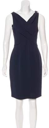 Christian Dior Silk-Blend Evening Sleeveless Dress