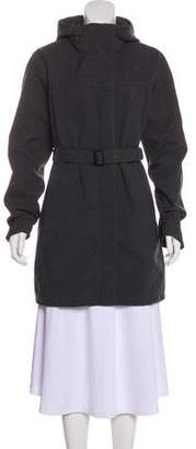 The North Face Hooded Knee-Length Coat