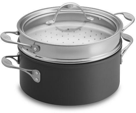 Calphalon One Nonstick Deep Sauté Pan with Steamer