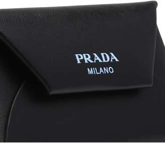 Prada Leather Credit Card Holder