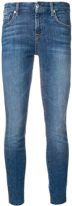 7 For All Mankind faded slim fit jeans