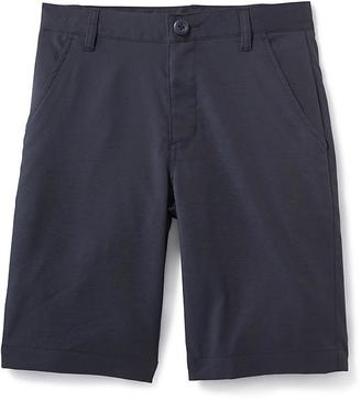 Moisture-Wicking Built-In Flex Uniform Shorts for Boys $19.94 thestylecure.com