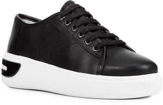 77a4a87c926 Geox Black Women s Sneakers - ShopStyle