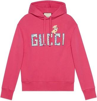 Gucci sweatshirt with piglet