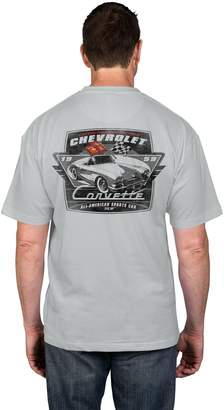 Newport Blue Big & Tall Corvette Graphic Tee