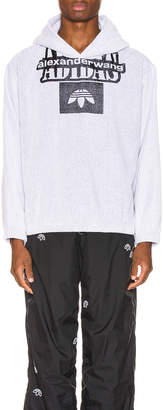 Alexander Wang Adidas By adidas by Towel Hoodie in White | FWRD