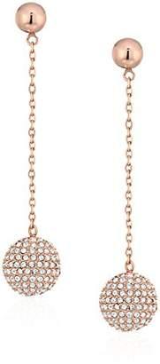 "Michael Kors Brilliance"" Iconic Links -Tone Linear Fireball Drop Earrings"