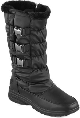 Totes Bryce Buckle Winter Boots $90 thestylecure.com