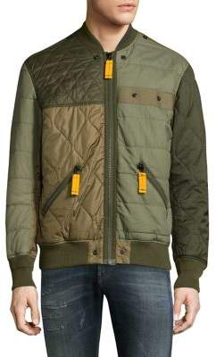 Diesel Watertow Quilted Bomber Jacket