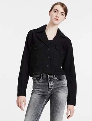 Calvin Klein denim military jacket