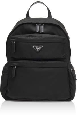 Prada Nylon Multi-Pocket Backpack