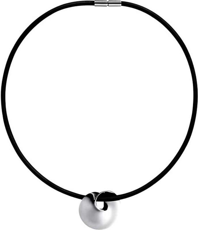 Georg Jensen Möbius silver pendant
