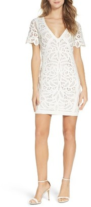 Women's French Connection Mesi Lace Dress $158 thestylecure.com