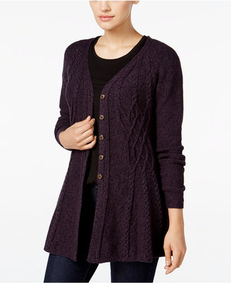 Style & Co. Ribbed Peplum Cardigan, Only at Macy's $69.50 thestylecure.com