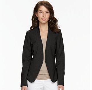 Women's Apt. 9® Open Front Blazer $60 thestylecure.com