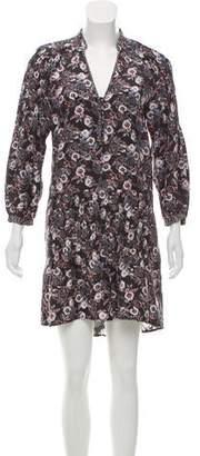 Veronica Beard Silk Floral Dress