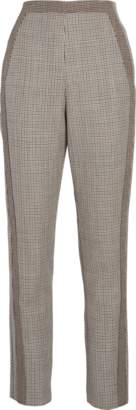 Roberto Cavalli Wool Tailored Cropped Pants