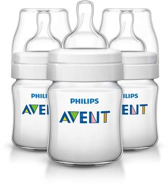 Philips Anti-Colic BPA Free Baby Bottle, 4-Ounce, 3-pack, SCF560/37
