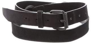 Ann Demeulemeester Ponyhair Harness Belt