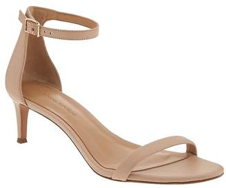 Banana Republic Bare Kitten Heel Sandal