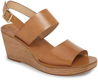 Sole Society Pavlina Platform Wedge Sandal
