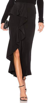 GOEN.J Off Center Ruffle Skirt