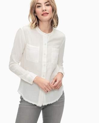Splendid Double Cloth Button Up
