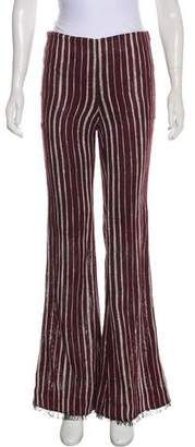 By Malene Birger Mid-Rise Striped Pants w/ Tags