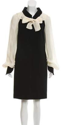 Chanel Two-Tone Shift Dress