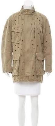 Sass & Bide Embellished Oversize Jacket