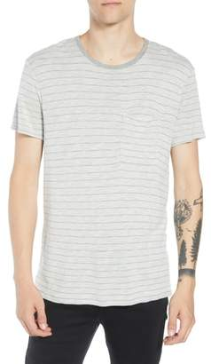 ATM Anthony Thomas Melillo Slim Fit Stripe Slub Jersey T-Shirt