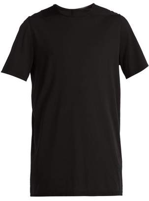Rick Owens Crew Neck Cotton T Shirt - Mens - Black