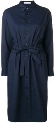 KNOTT drawstring waist shirt dress