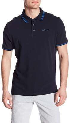 Ben Sherman Short Sleeve Tipped Pique Polo