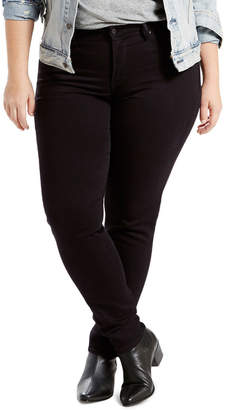 Levi's Plus Shaping Skinny Soft Black
